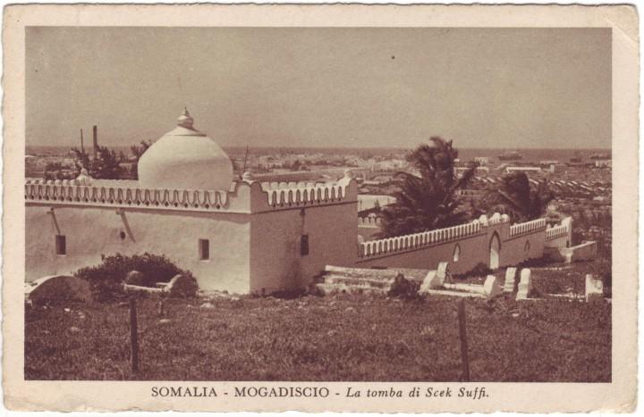 Somalia - Mogadiscio- La Tomba di Scek Suffi