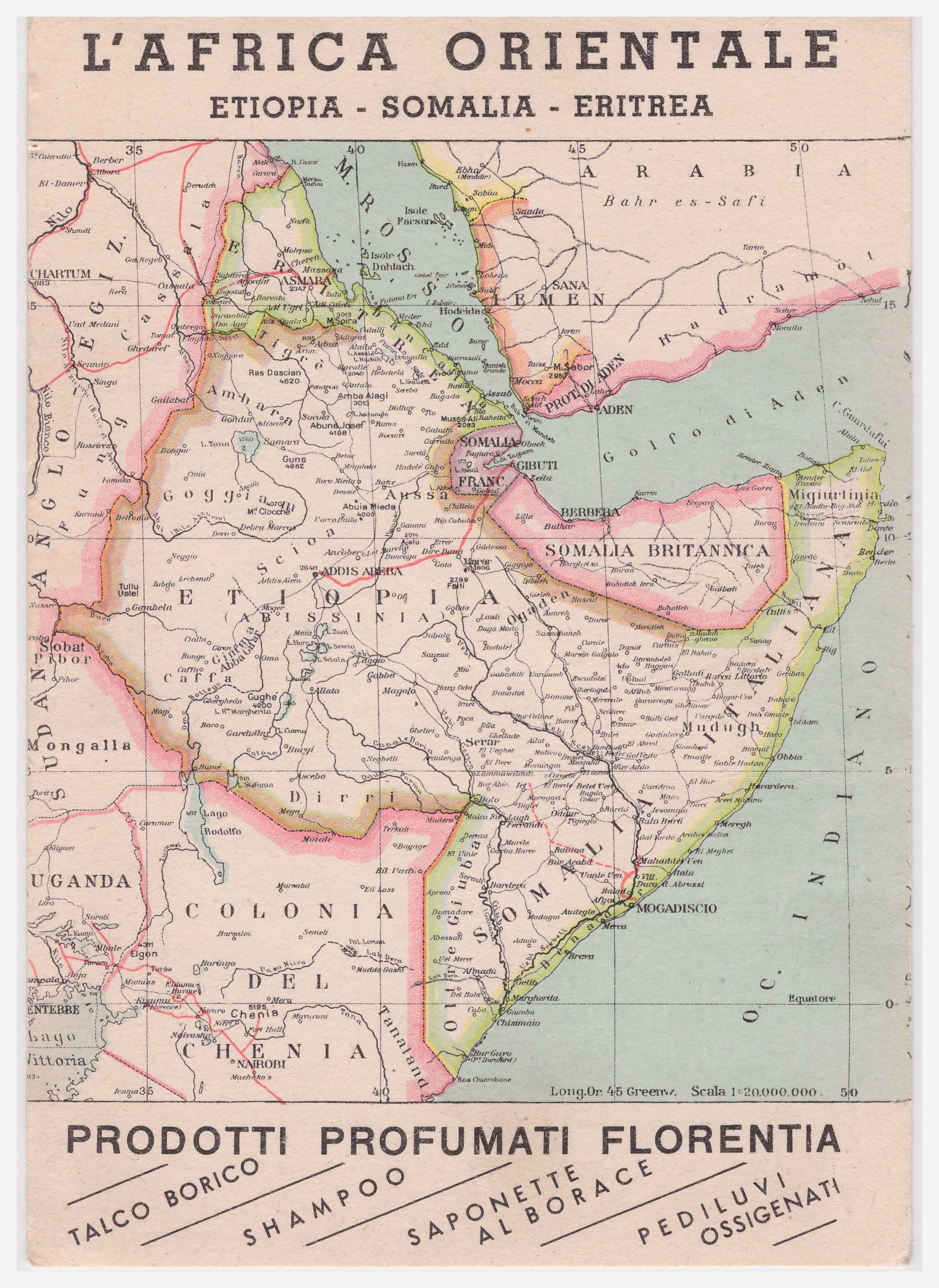 Maps Mogadishu Images From The Past - Eritrea map hd pdf