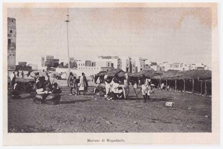 Mercato di Mogadiscio 1901