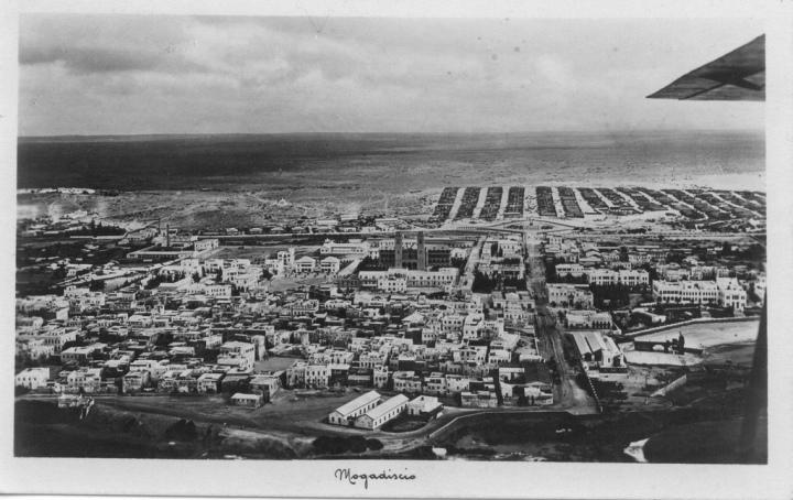 Mogaerial photo from vintrage somalia
